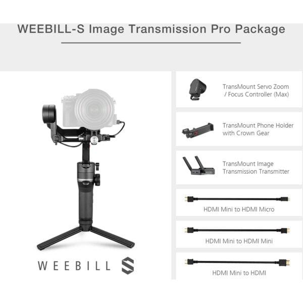 Zhiyun Tech WEEBILL S Image Transmission Pro Package 5