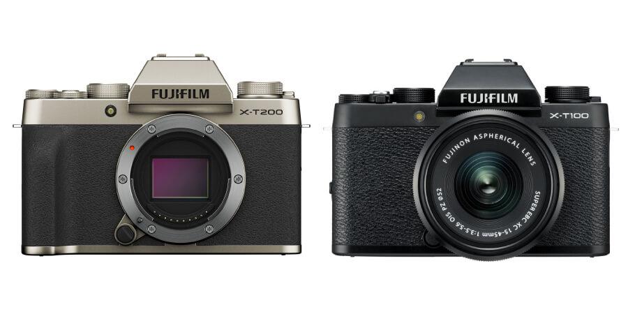 compare fujifilm xt200 vs xt100 body 0