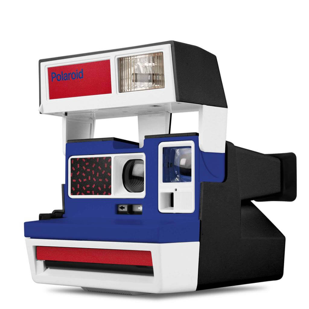 Custom Polaroid 600 Camera Pop Deco Plaza