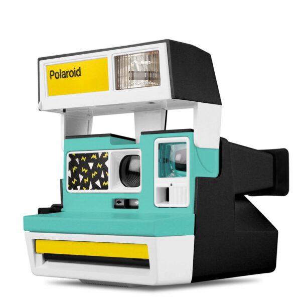 Custom Polaroid 600 Camera Pop Deco Terrazzo