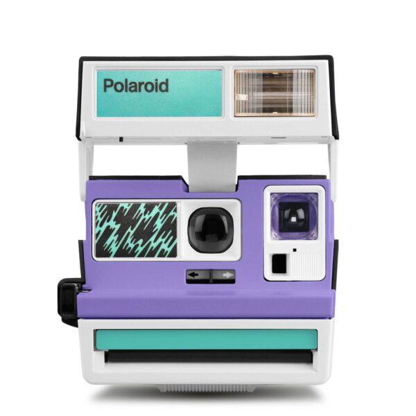 Custom Polaroid 600 Camera Pop Deco Vernice