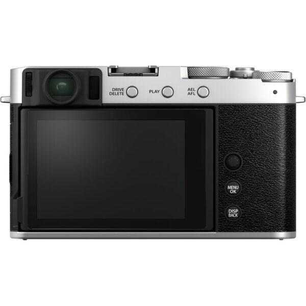 FUJIFILM X E4 Mirrorless Digital Camera with XF 27mm f2.8 R WR Lens 2