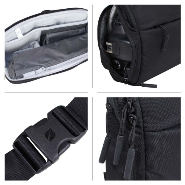 Incase Point and Shoot Field Bag-Nylon-Black (CL58066)