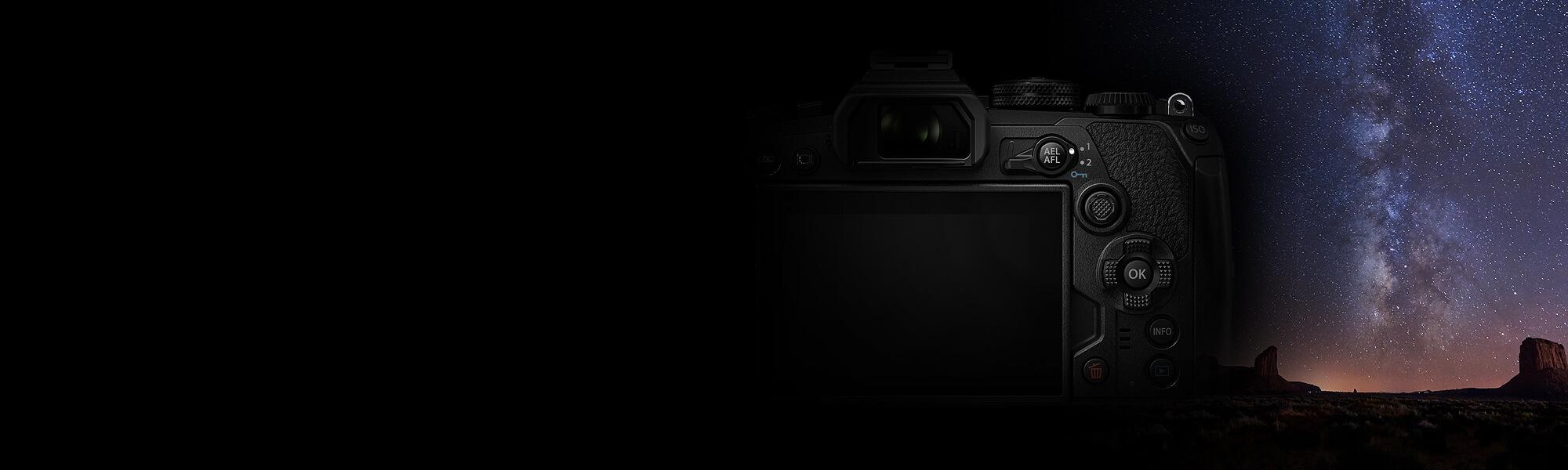 Olympus OM D E M1 Mark III Mirrorless Digital Camera 11