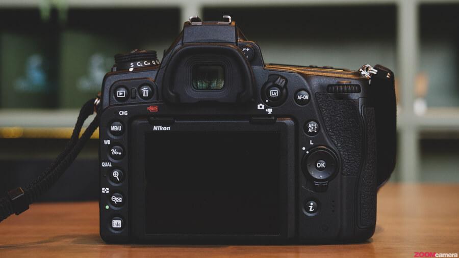 Nikon D780 back