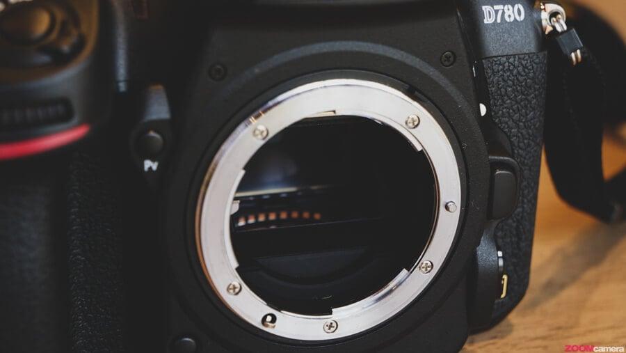 Nikon D780 mirror