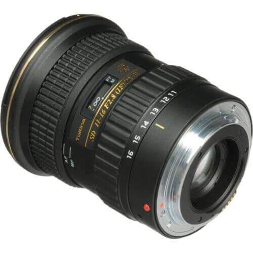 Tokina AT-X 116 PRO DX-II 11-16mm f/2.8 Lens
