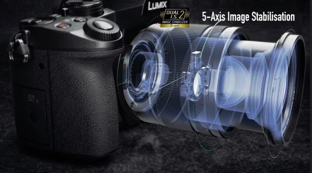 lumix g85 5 axis
