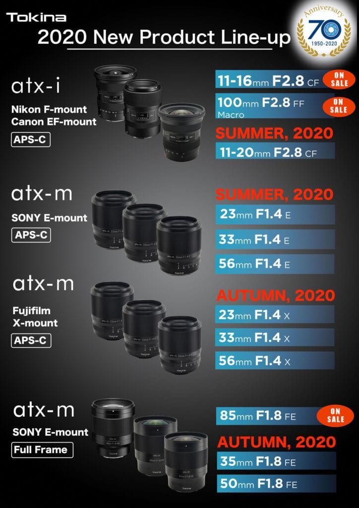 tokina atx-m mirrorless lense