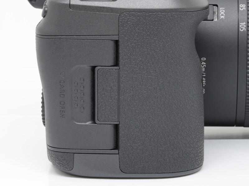 Canon EOS R5 Card Slot