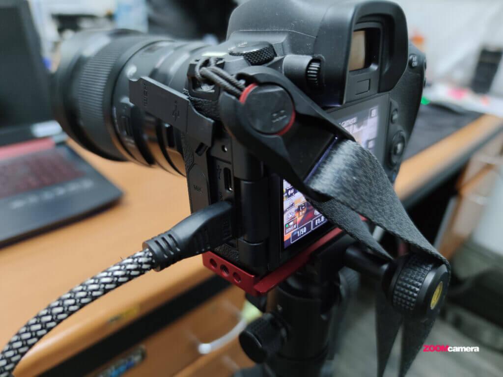 camera hdmi setting