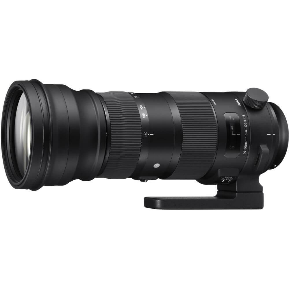 Sigma 150-600mm f/5-6.3 DG OS HSM(S) zoomcamera