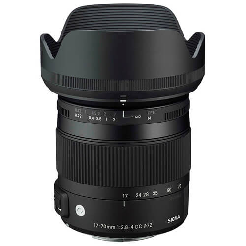 Sigma 17 70mm f2.8 4 DC Macro OS HSM Contemporary Lens 2