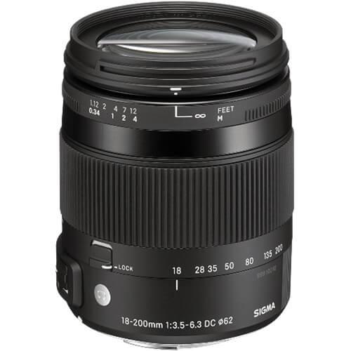 Sigma 18 200mm f3.5 6.3 DC Macro OS HSM Contemporary Lens 3
