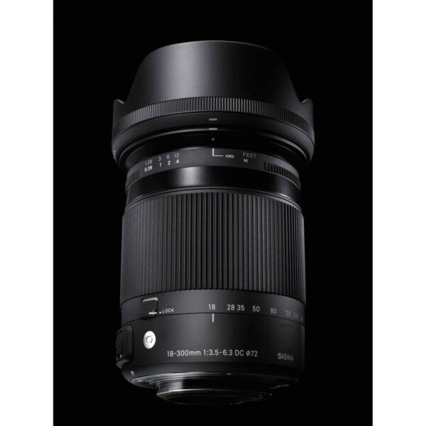 Sigma 18 300mm f3.5 6.3 DC Macro OS HSM Contemporary Lens 7