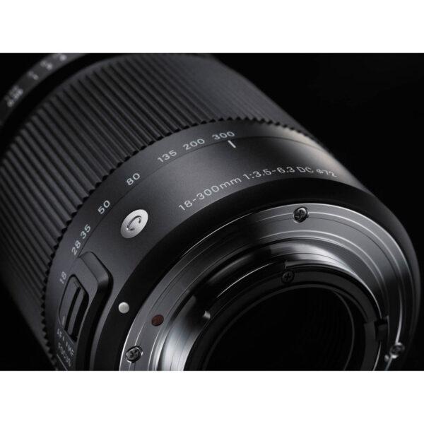 Sigma 18 300mm f3.5 6.3 DC Macro OS HSM Contemporary Lens 8