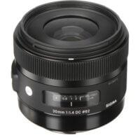 Sigma 30mm f/1.4 DC HSM Art Lens zoomcamera