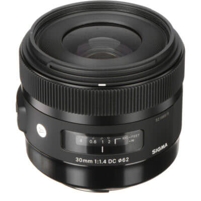 Sigma 30mm f/1.4 DC HSM Art Lens zoomcamera