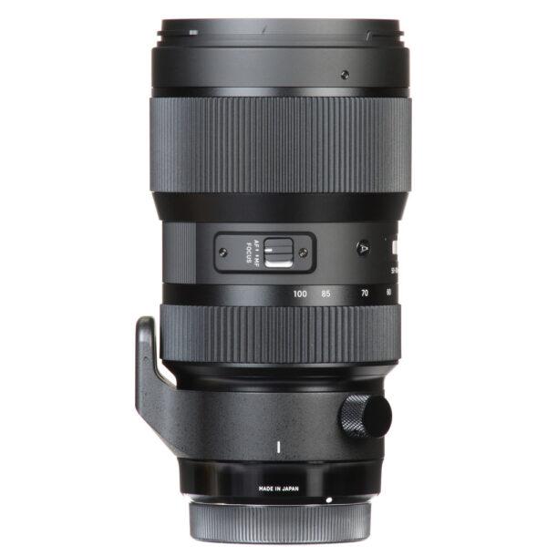 Sigma 50 100mm f1.8 DC HSM Art Lens 13