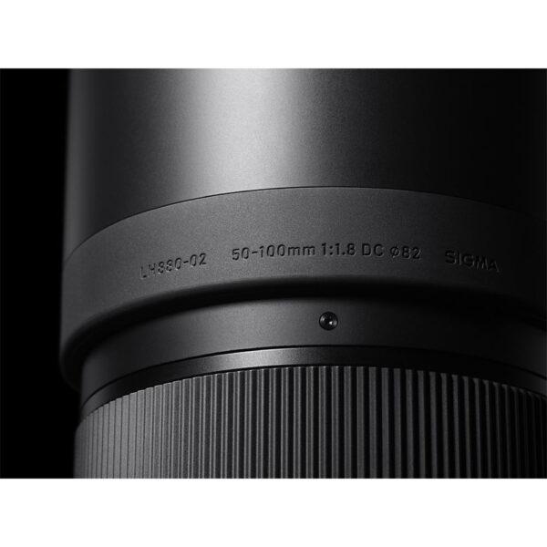 Sigma 50 100mm f1.8 DC HSM Art Lens 7