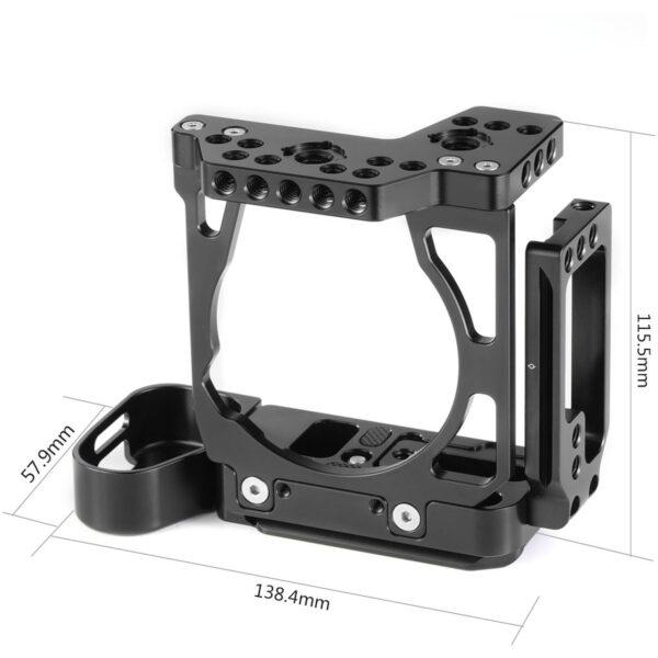 SmallRig 2236 Camera Half Cage with Arca L Bracket for Sony A7III A7RIII 3