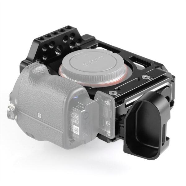SmallRig 2236 Camera Half Cage with Arca L Bracket for Sony A7III A7RIII 5