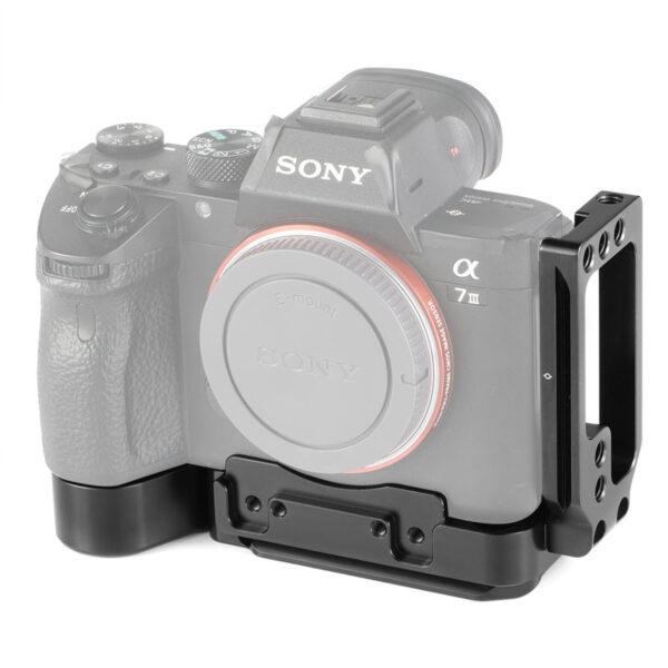 SmallRig 2236 Camera Half Cage with Arca L Bracket for Sony A7III A7RIII 6
