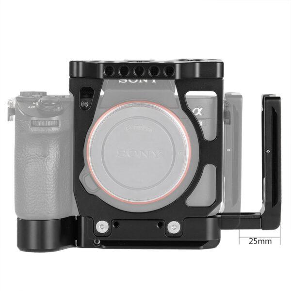 SmallRig 2236 Camera Half Cage with Arca L Bracket for Sony A7III A7RIII 7