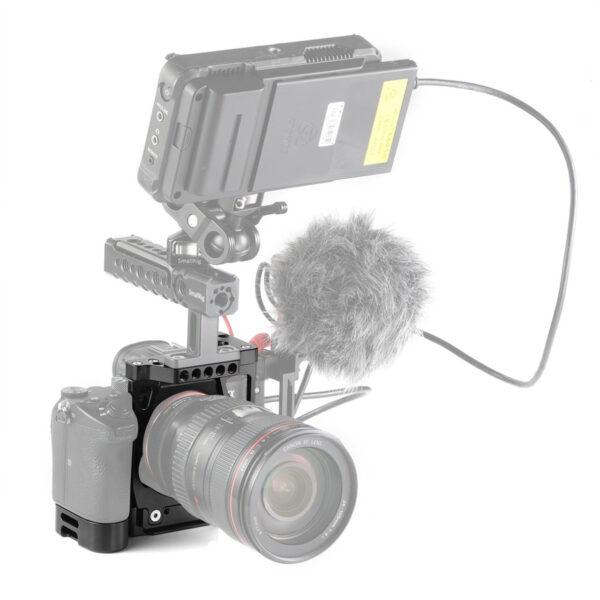 SmallRig 2236 Camera Half Cage with Arca L Bracket for Sony A7III A7RIII 8