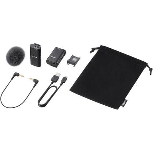 Sony ECM-W2BT Camera-Mount Digital Bluetooth Wireless Microphone System for Sony Cameras-12