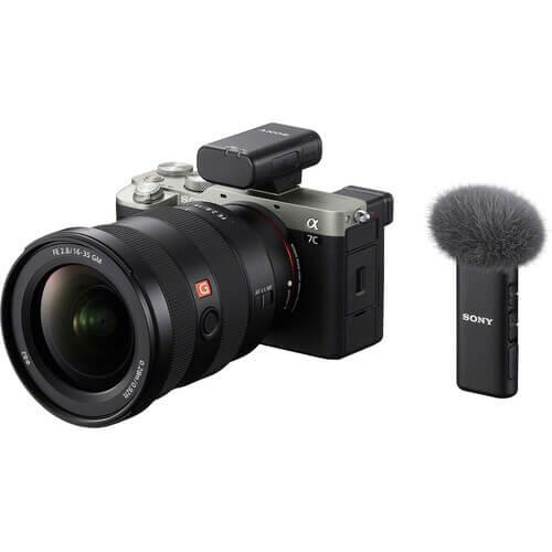 Sony ECM W2BT Camera Mount Digital Bluetooth Wireless Microphone System for Sony Cameras 14