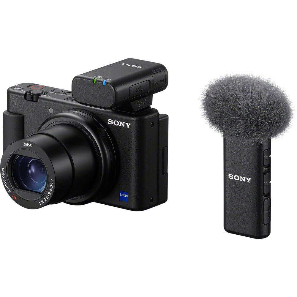 Sony ECM-W2BT Camera-Mount Digital Bluetooth Wireless Microphone System for Sony Cameras-16