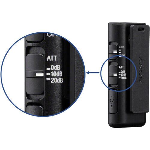 Sony ECM W2BT Camera Mount Digital Bluetooth Wireless Microphone System for Sony Cameras 20