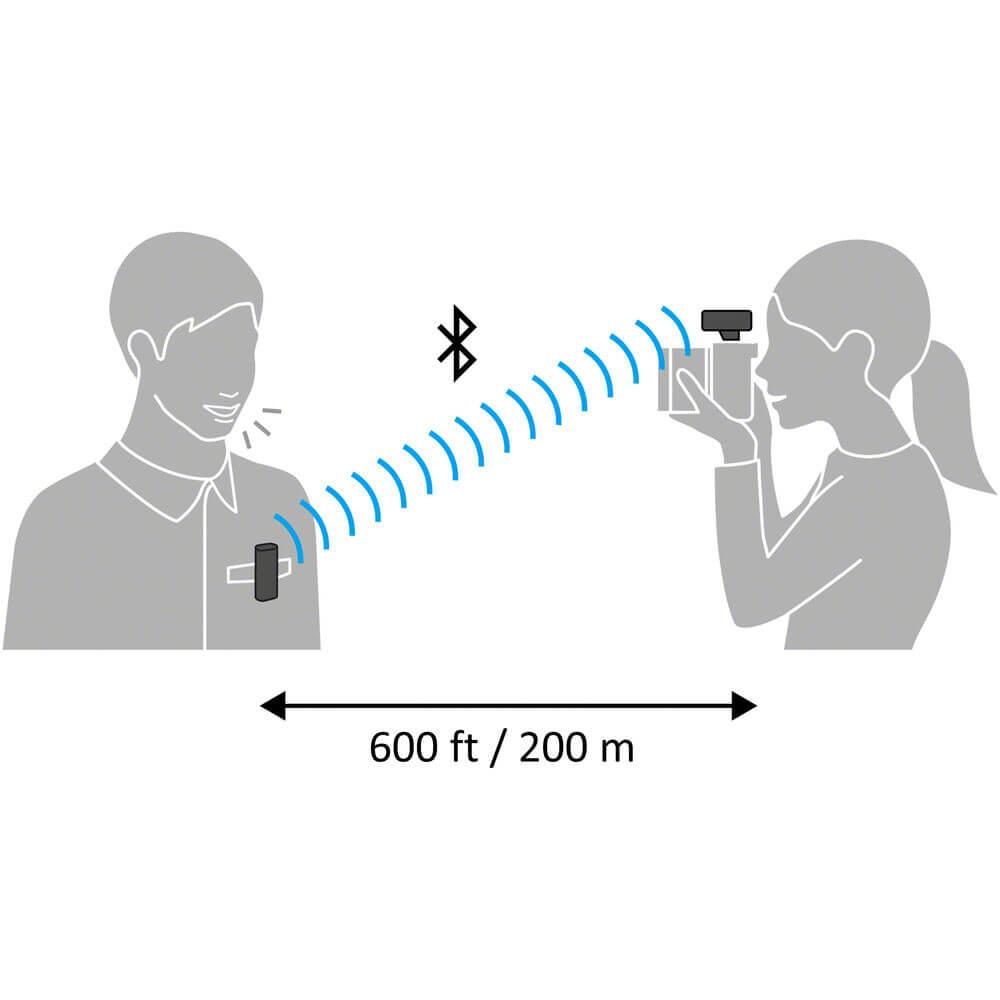 Sony ECM W2BT Camera Mount Digital Bluetooth Wireless Microphone System for Sony Cameras 22