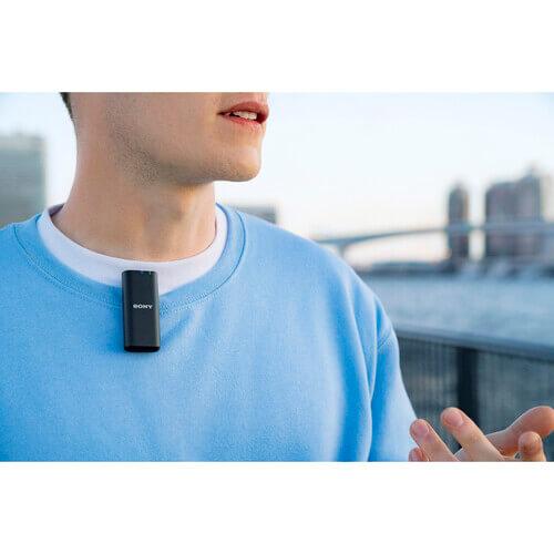 Sony ECM W2BT Camera Mount Digital Bluetooth Wireless Microphone System for Sony Cameras 25