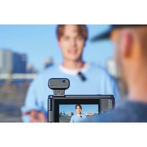 Sony ECM-W2BT Camera-Mount Digital Bluetooth Wireless Microphone System for Sony Cameras-28