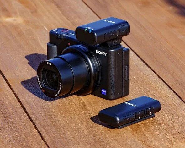 Sony ECM W2BT Camera Mount Digital Bluetooth Wireless Microphone System for Sony Cameras 30