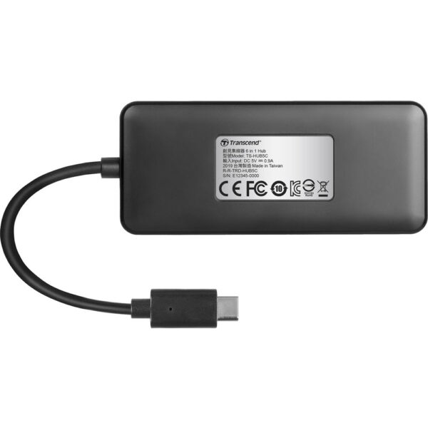 Transcend HUB5C 6 in 1 USB 3.1 Gen 2 Type C Hub 5