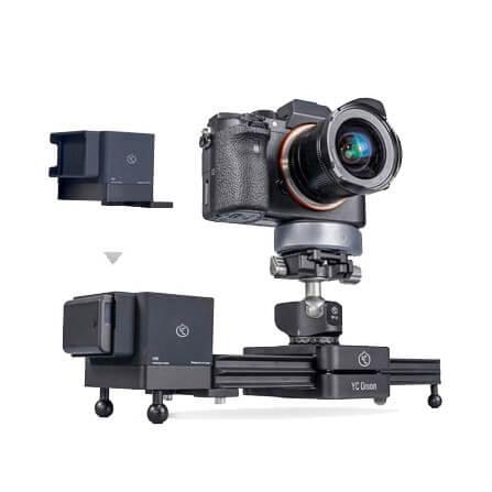 YC Onion CCMS Chocolate Milk Motorized Camera Slider 23mm 2
