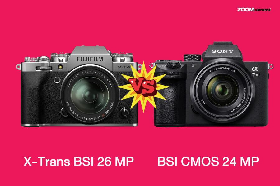 กล้องฟูจิ vs กล้อง sony