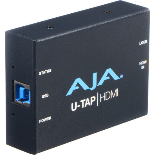 AJA U TAP HDMI Capture Device USB 3.03.1 Gen1 1
