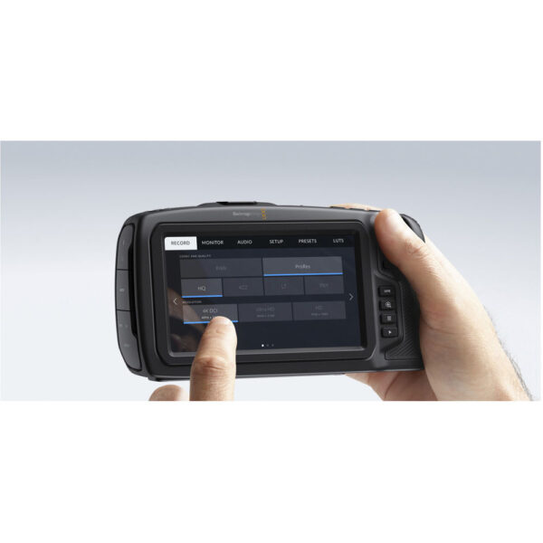 Blackmagic Design Pocket Cinema Camera 4K 10