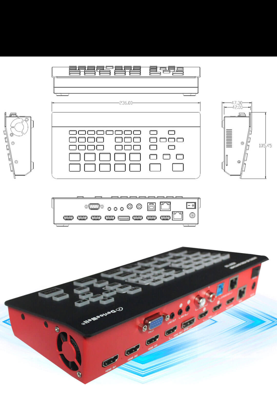 Devicewell HDS 7105 020