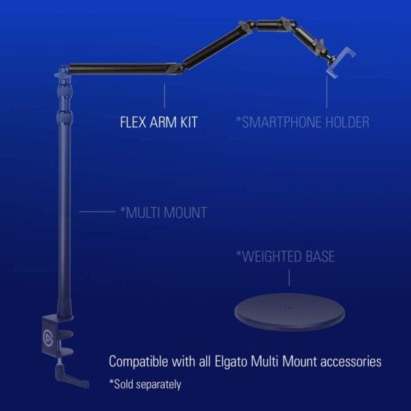 ELGATO MULTI MOUNT FLEX ARM KIT 11