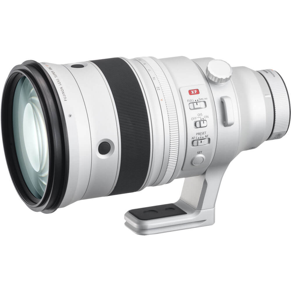 FUJIFILM XF 200mm f2 R LM OIS WR Lens with XF 1.4x TC F2 WR Teleconverter Kit 1