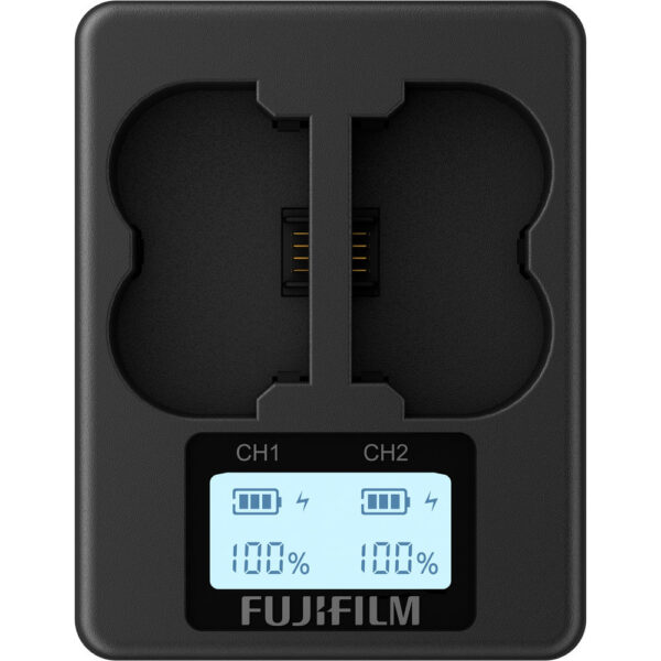 Fujifilm BC W235 Dual Battery Charger 2