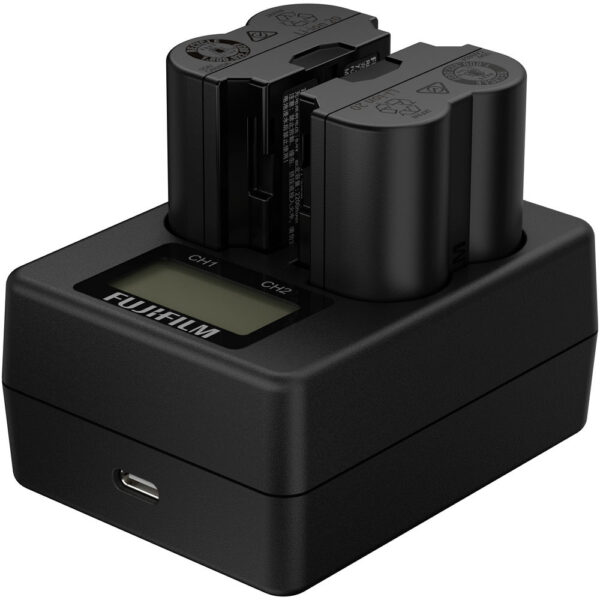 Fujifilm BC W235 Dual Battery Charger 4