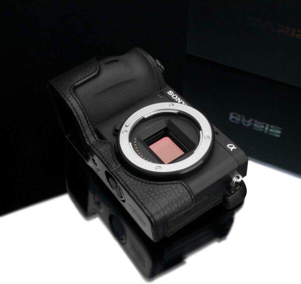 Gariz XS CHA6600BK Half case for Sony A6600 Black 2