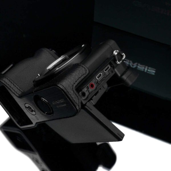 Gariz XS CHA6600BK Half case for Sony A6600 Black 3