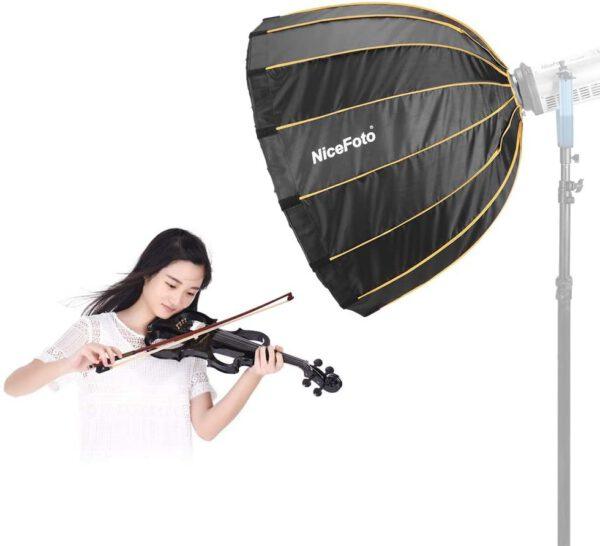 Nicefoto LED professional Umbrella Softbox Photography Studio SoftBox with Grid 6